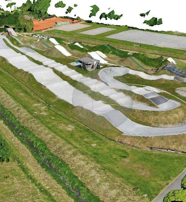 Geodetski načrt BMX steze